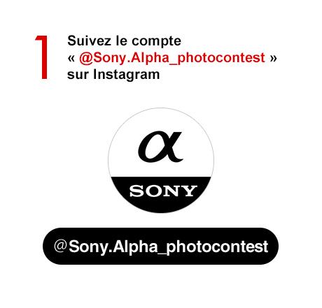 Step 1 Suivez le compte « @Sony.Alpha_photocontest » sur Instagram